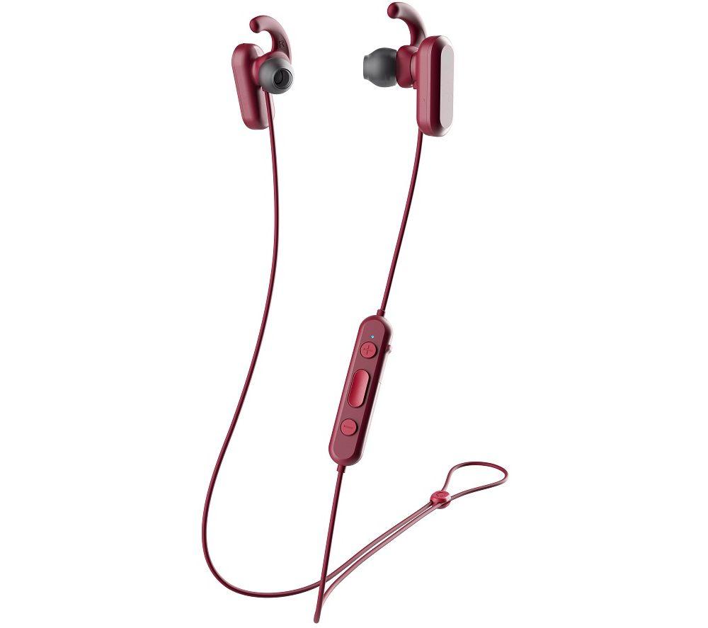 SKULLCANDY Method S2NQW-M685 Wireless Bluetooth Noise-Cancelling Sports Earphones - Red & Black
