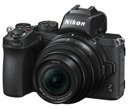 Z 50 Mirrorless Camera with NIKKOR Z 50-250 mm f/4.5-6.3 VR & 16-50 mm f/3.5-6.3 VR Lens