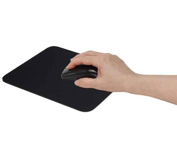 pmmat11 pca001 essentials pmmat11 mouse mat black. Black Bedroom Furniture Sets. Home Design Ideas