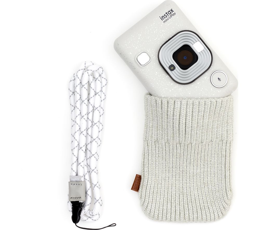INSTAX LiPlay Accessory Bundle - White