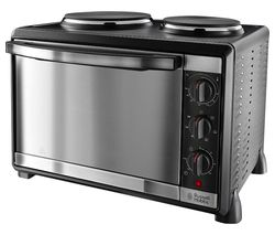 Mini Kitchen 22780 Electric Mini Oven - Black Metal