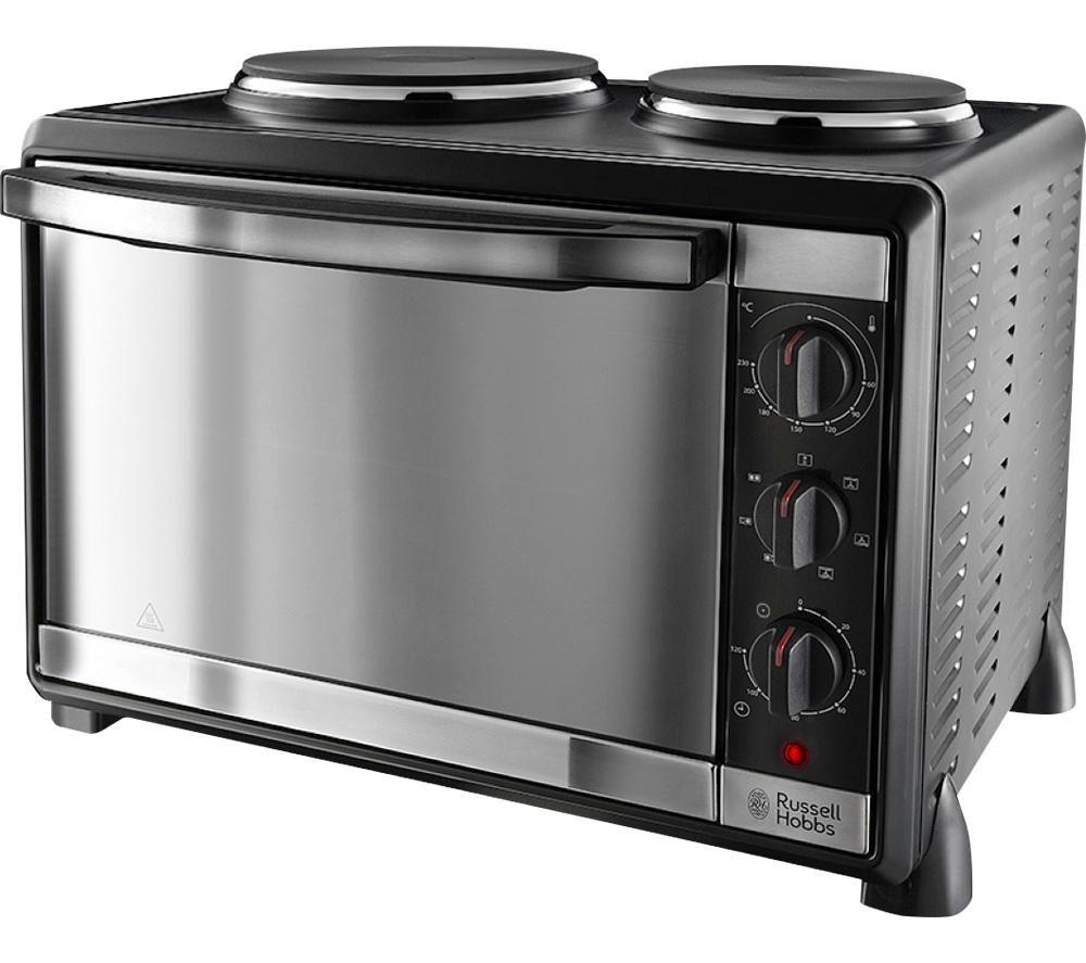 RUSSELL HOBBS Mini Kitchen 22780 Electric Mini Oven - Black Metal