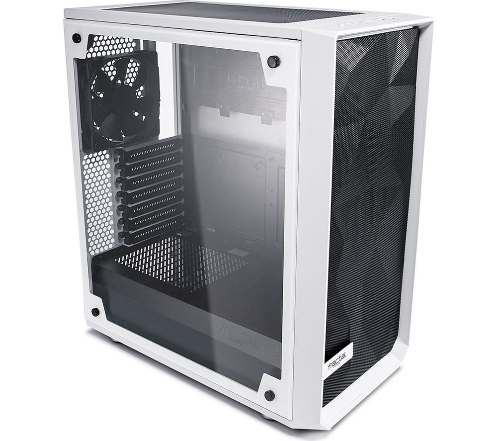 Image of Meshify C TG ATX Mid-Tower PC Case - White, White