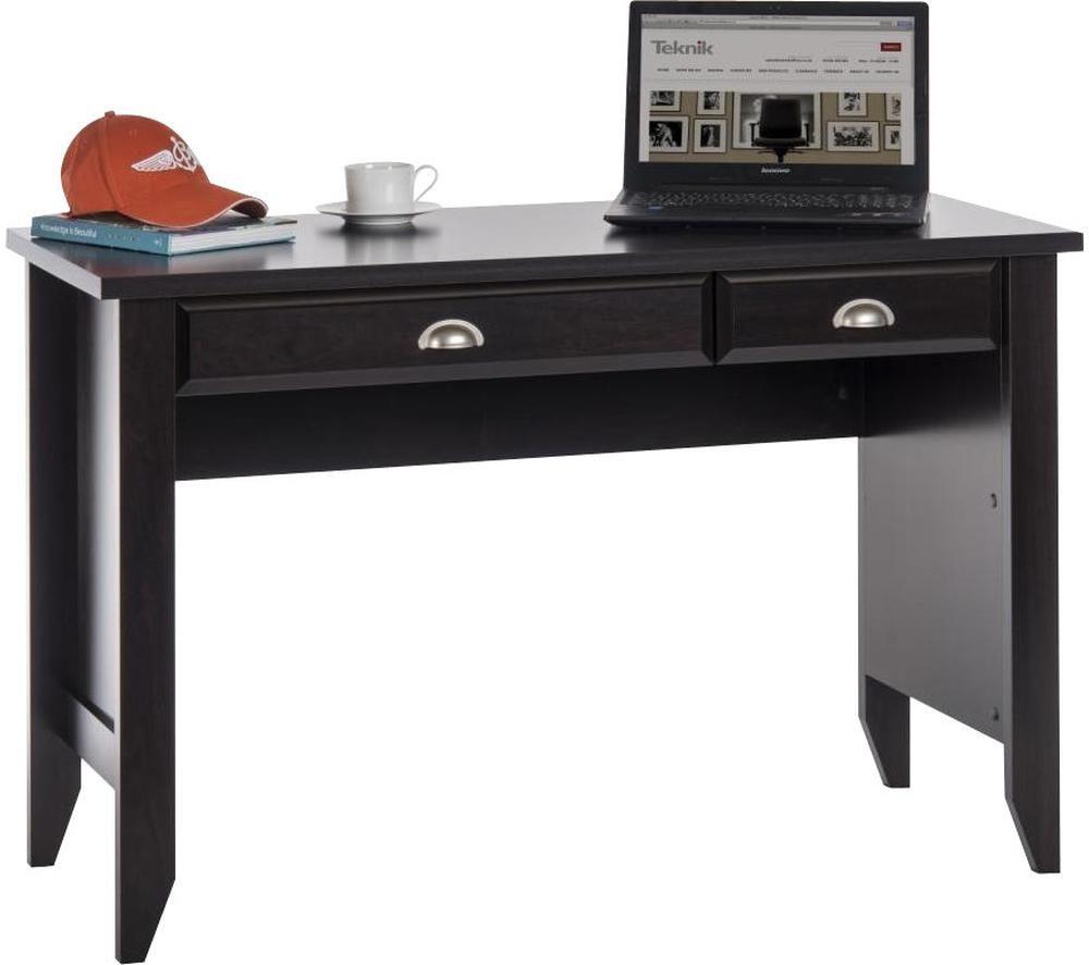 TEKNIK 5409936 Laptop Desk - Jamocha Wood, Silver