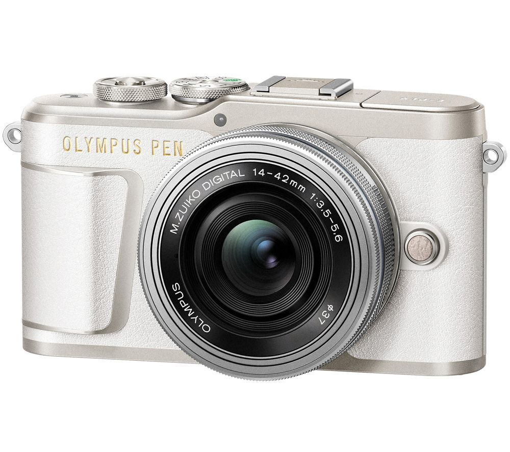 Click to view product details and reviews for Olympus Pen E Pl9 Mirrorless Camera With Mzuiko Digital Ed 14 42 Mm F 35 56 Ez Lens White White.