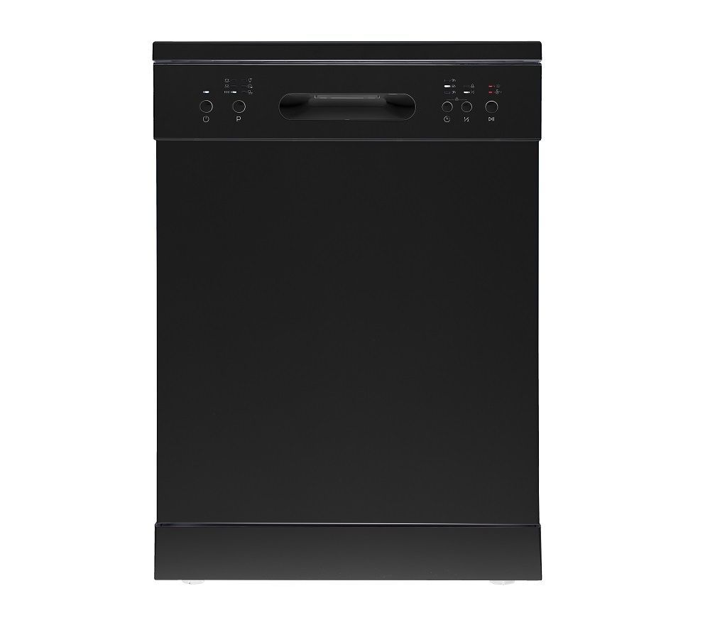 ESSENTIALS CUE CDW60B20 Full-size Dishwasher - Black