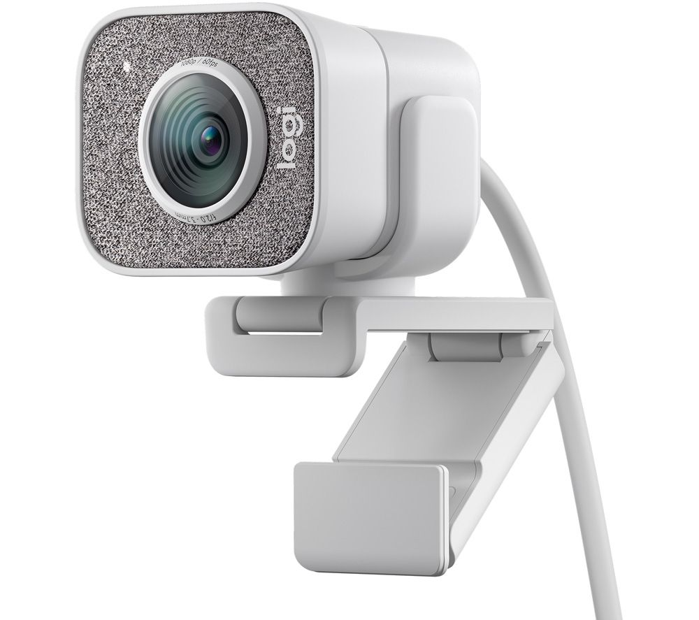 LOGITECH StreamCam Full HD Webcam - White