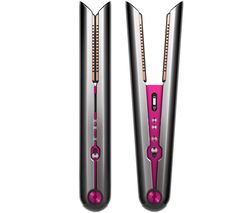 Corrale Hair Straightener - Black Nickel & Fuchsia
