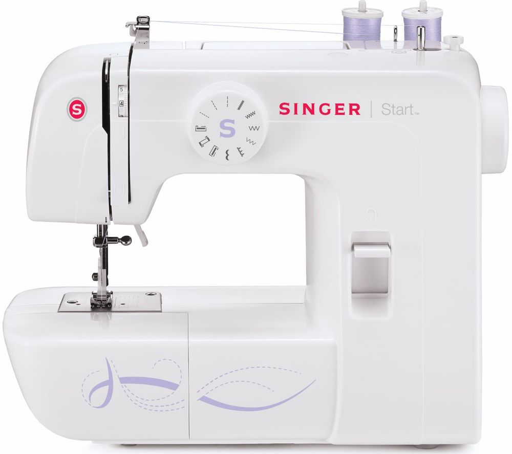 Image of SINGER Start 1306 Sewing Machine - White, White