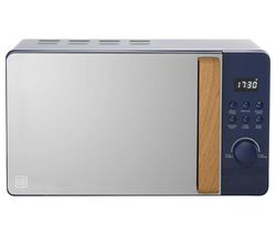 DAEWOO Skandik SDA1707 Microwave with Grill - Blue Best Price, Cheapest Prices