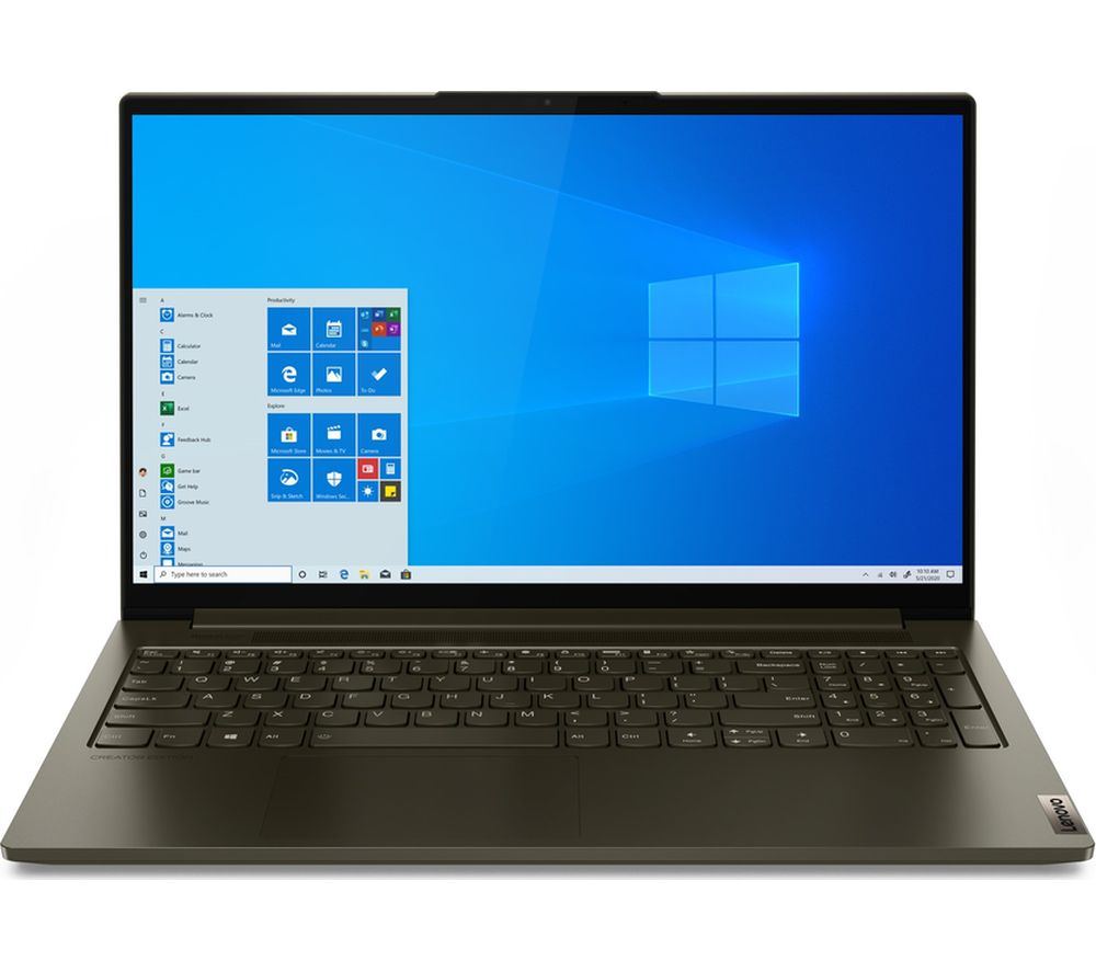 "Image of LENOVO Yoga Creator 7i 15.6"" Laptop - Intel®Core™ i5, 512 GB SSD, Dark Moss"