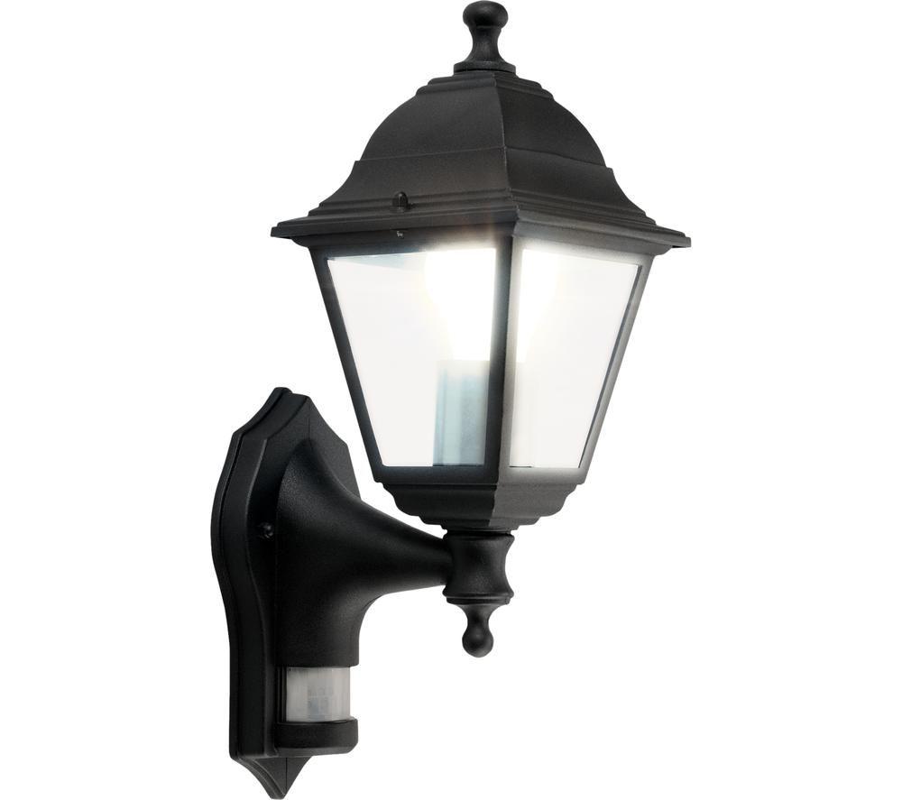 LUCECO LEXDCL4PB-01 Outdoor Wall Lamp - E27, Black