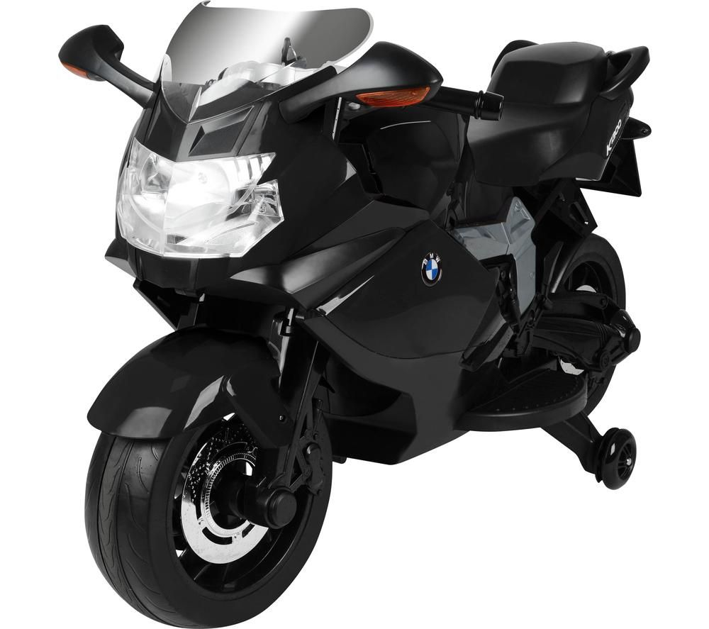 TOYRIFIC Vroom TY5838BK BMW Bike Electric Ride On Toy - Black