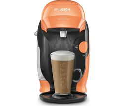 by Bosch Style TAS1106GB Coffee Machine - Peach