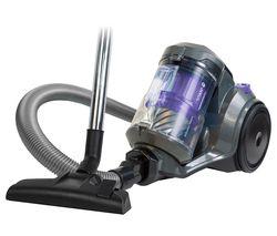 Titan RHCV4601 Cylinder Bagless Vacuum Cleaner - Spectrum Grey & Purple