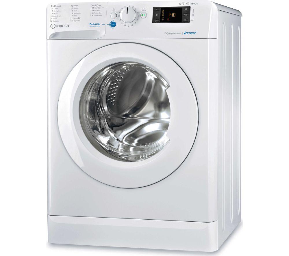 INDESIT Innex BDE1071682XWUKN 10 kg Washer Dryer – White