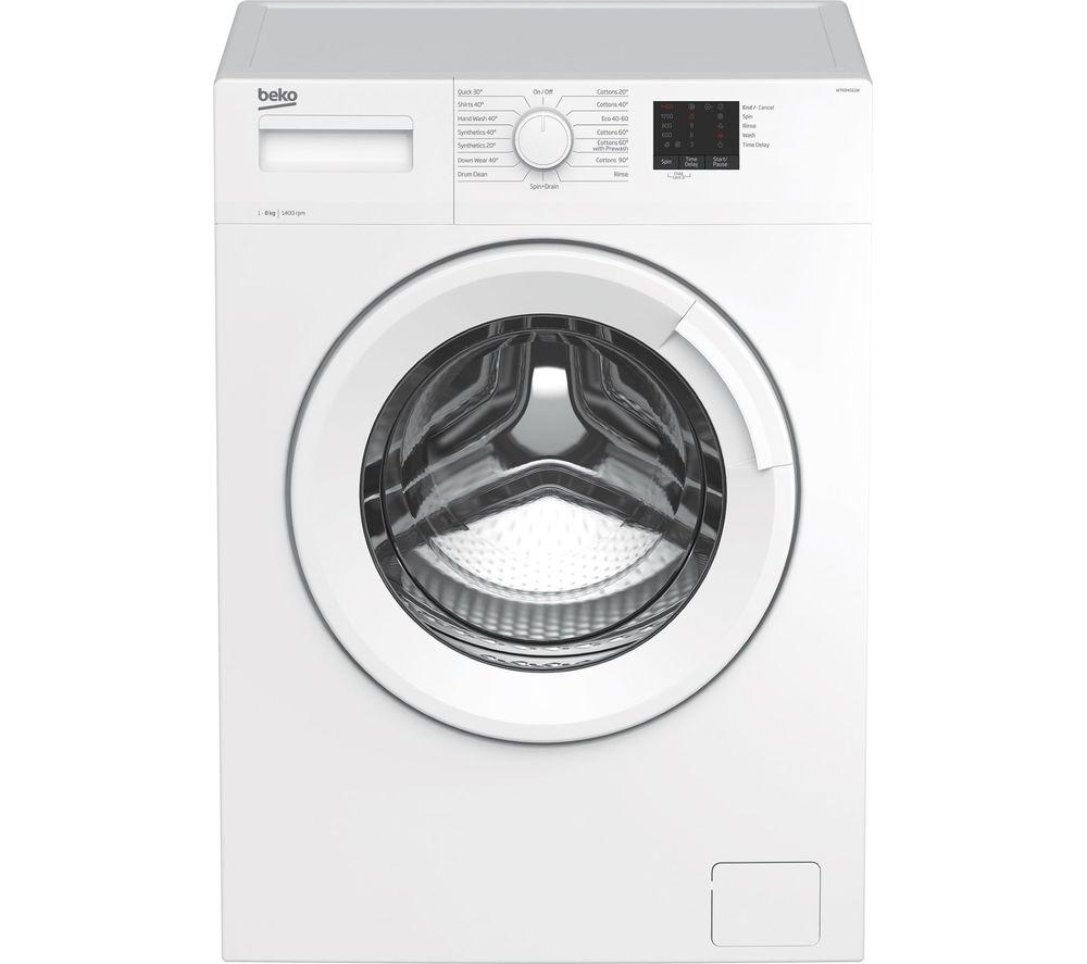 BEKO WTK84011W 8 kg 1400 Spin Washing Machine - White