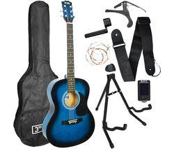 Acoustic Guitar Premium Bundle - Blueburst