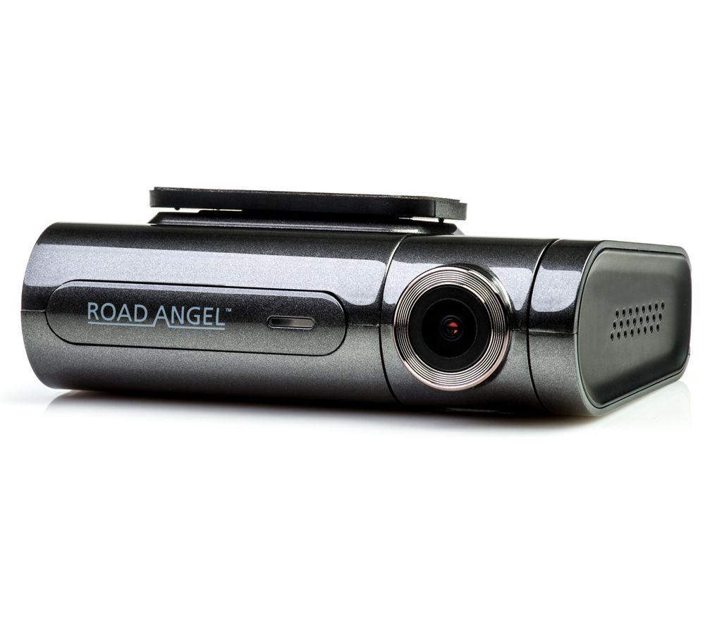 ROAD ANGEL Aura Pro Quad HD Dual Dash Cam - Black