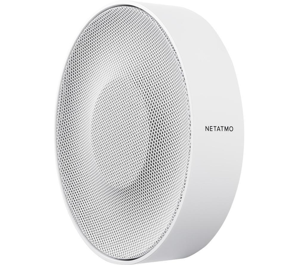 NETATMO NIS01-UK Smart Indoor Siren - White