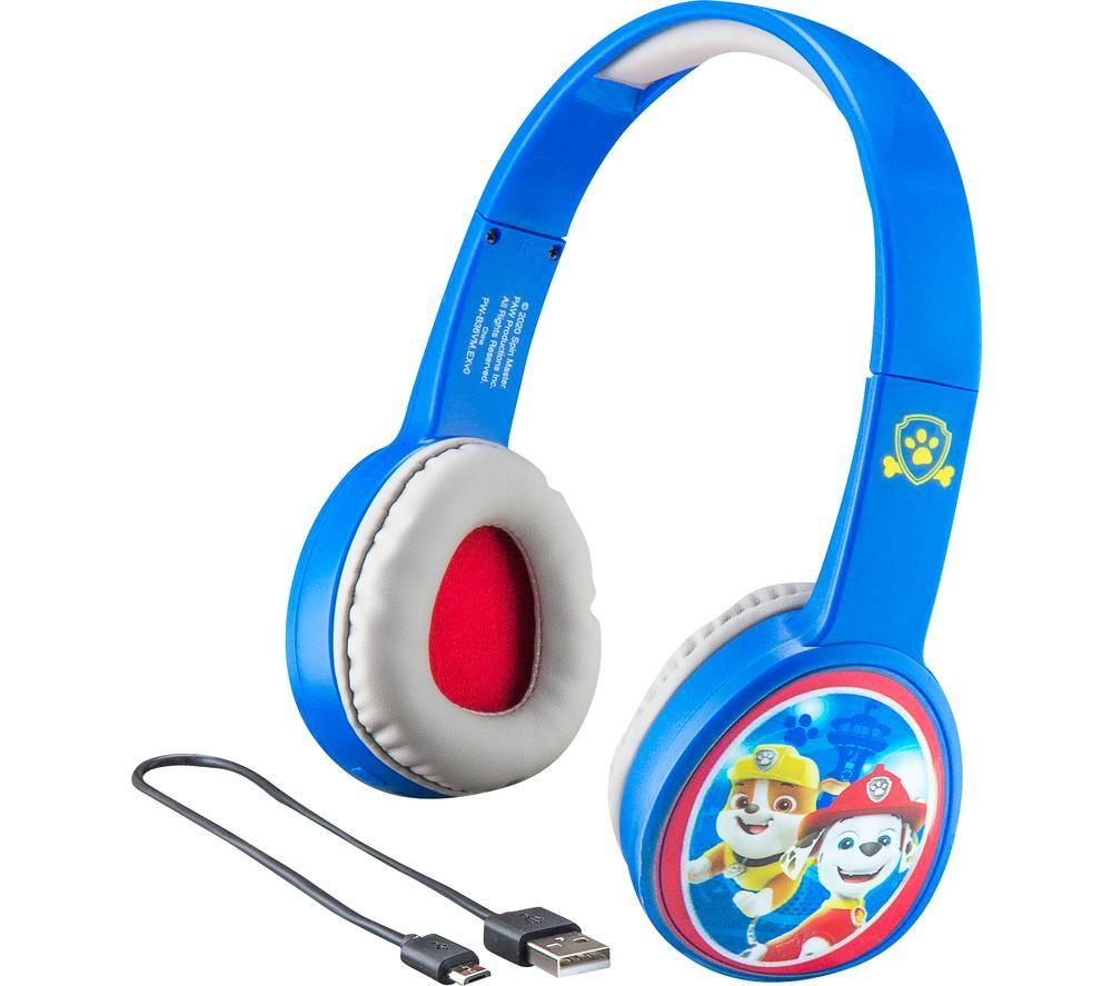 EKIDS Paw Patrol PW-B36VM Wireless Bluetooth Kids Headphones - Blue