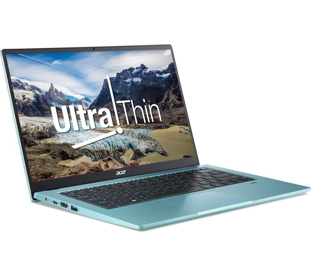 """Image of ACER Swift 3 14"""" Laptop - AMD Ryzen 5, 1 TB SSD, Blue, Blue"""