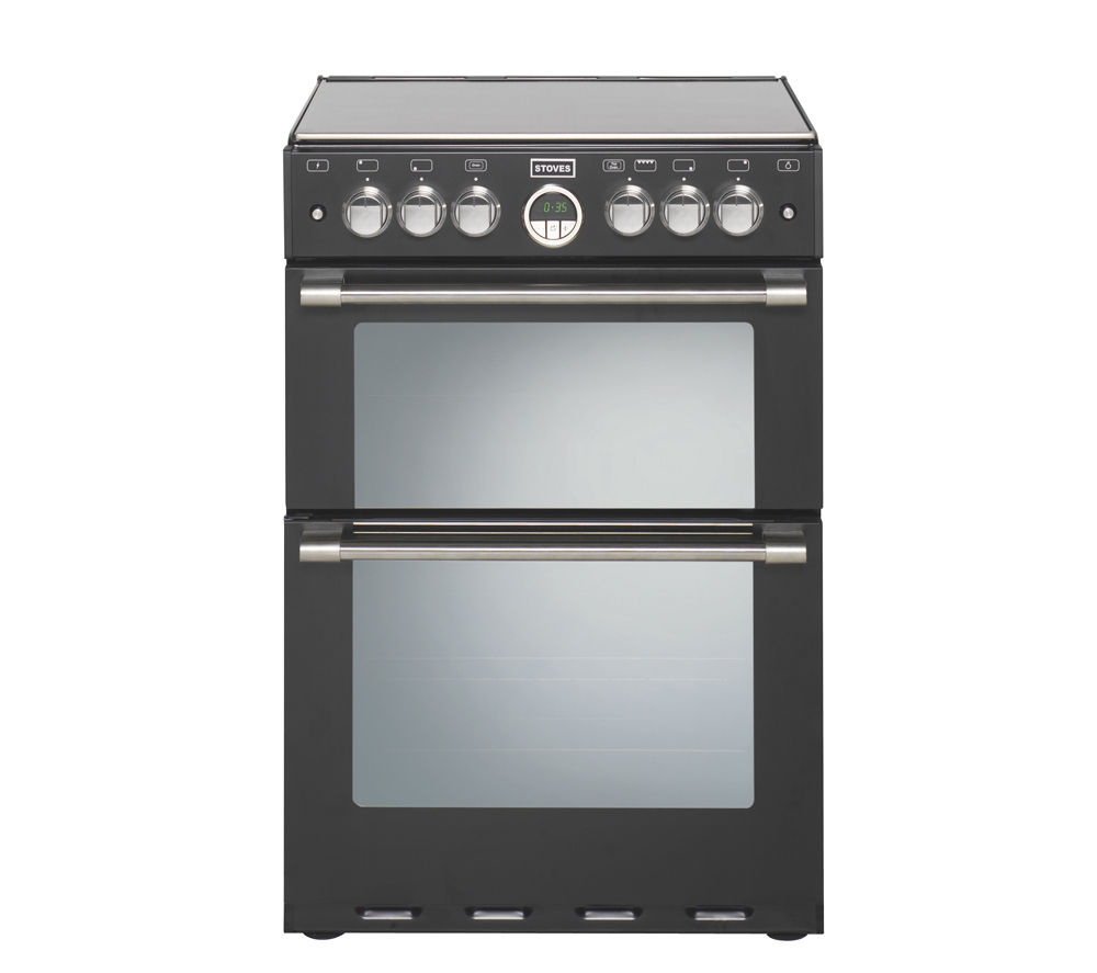 STOVES Sterling 600E Electric Cooker - Black