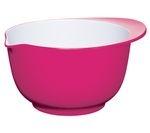 COLOURWORKS 22 cm Mixing Bowl - Pink & White
