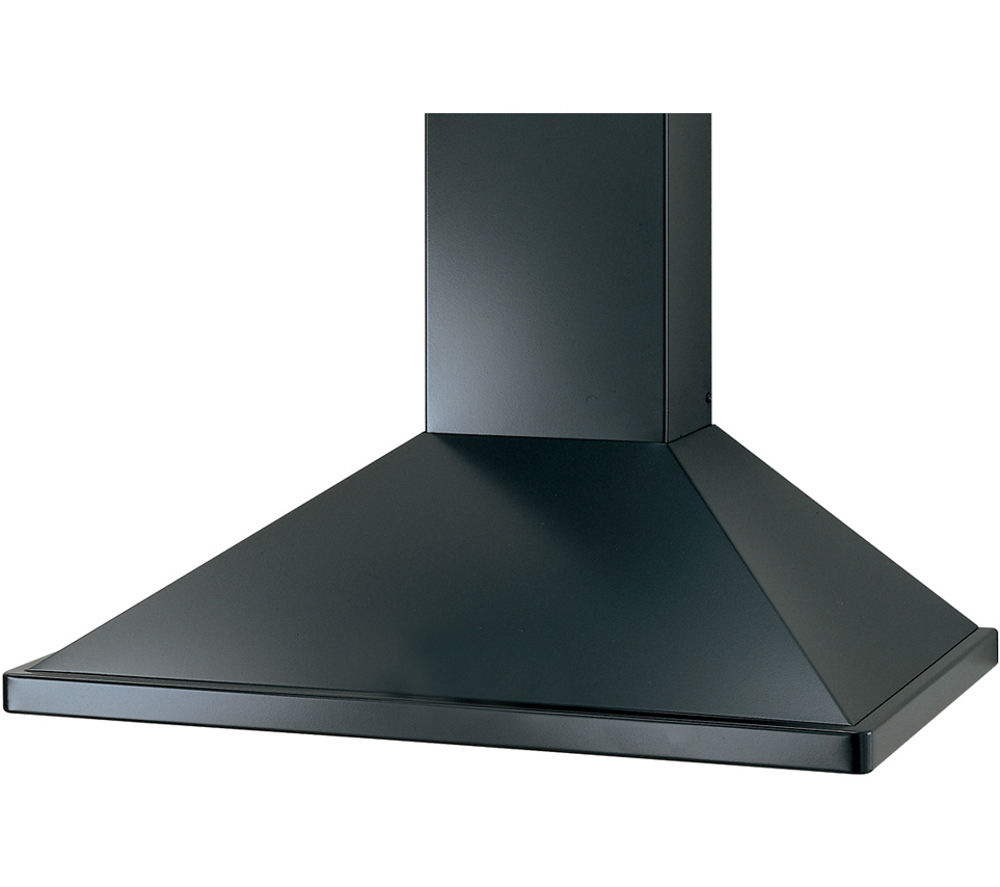 RANGEMASTER UNBHDC110BL Chimney Cooker Hood - Black