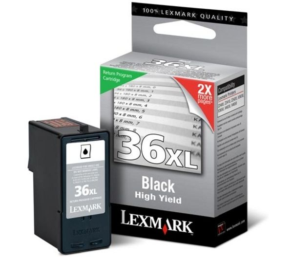 LEXMARK 36XL Black Ink Cartridge