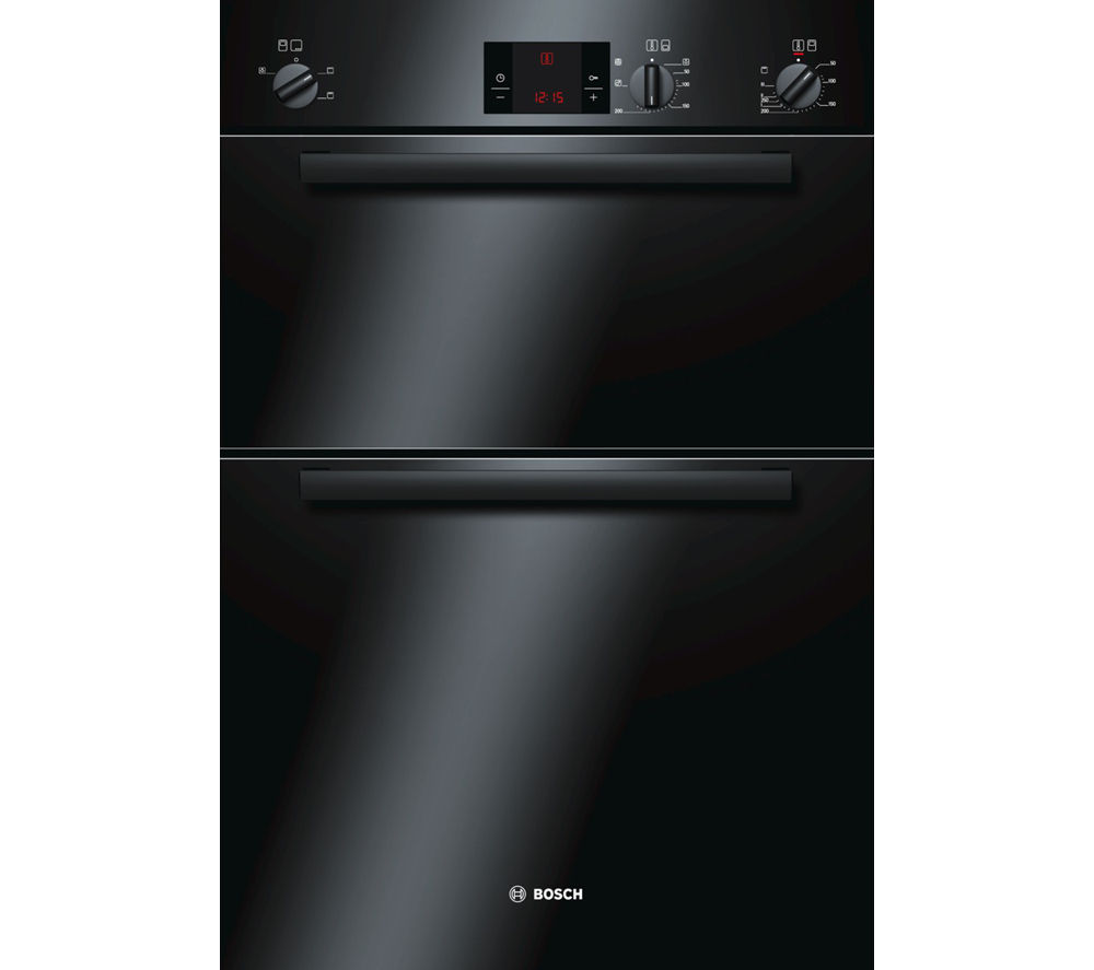 BOSCH HBM13B160B Serie 6 Electric Double Oven - Black
