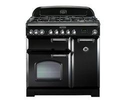 Classic Deluxe 90 Dual Fuel Range Cooker - Black