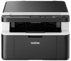 BROTHER Compact DCP1612W Monochrome All-in-One Wireless Laser Printer