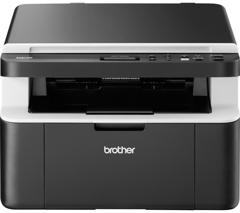 Compare prices for Brother Compact DCP1612W Monochrome All In One Wireless Laser Printer
