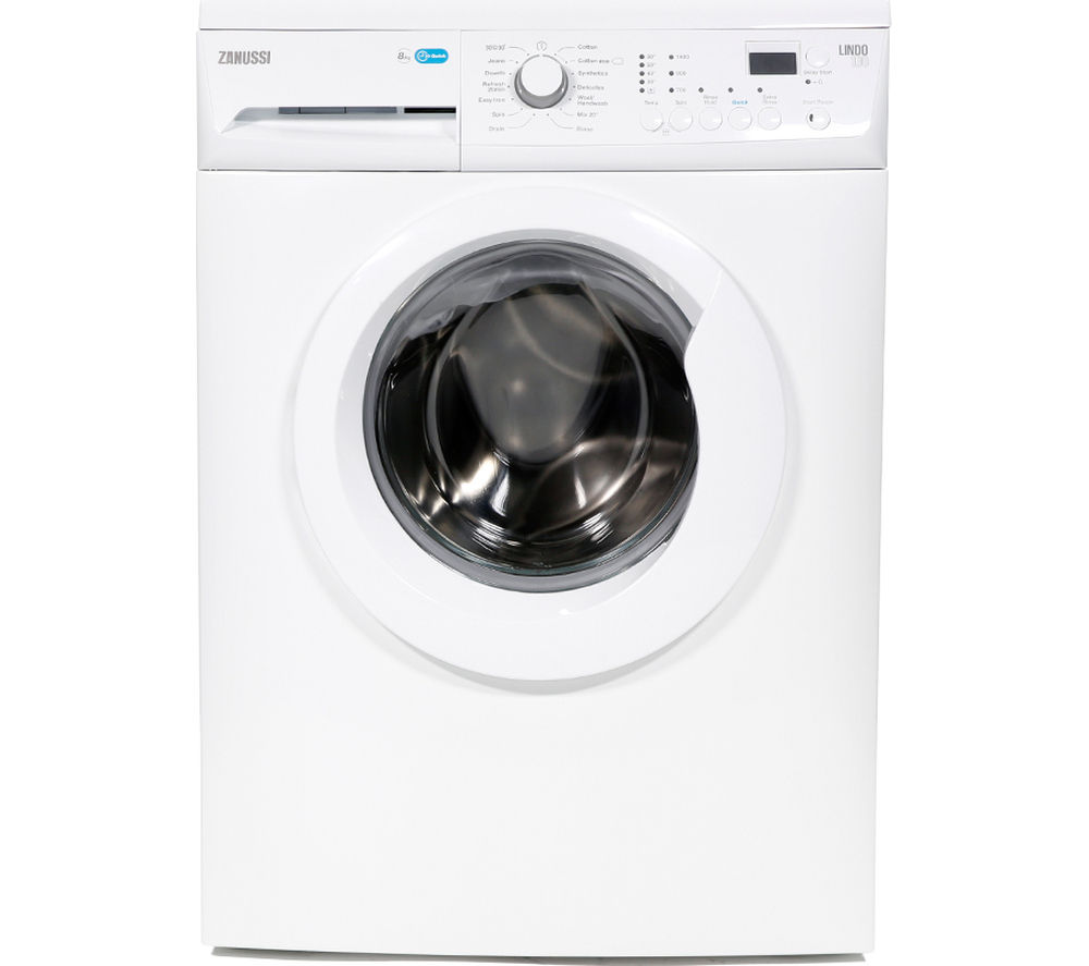 ZANUSSI ZWF81441W Washing Machine – White, White