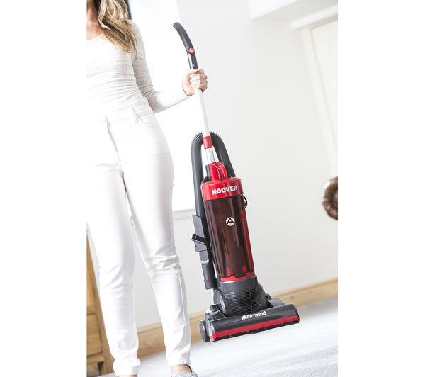 carpet vacuum cleaner. hoover whirlwind wr71 wr01 upright bagless vacuum cleaner - grey \u0026 red carpet c