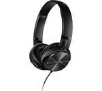PHILIPS SHL3850NC Noise-Cancelling Headphones - Black
