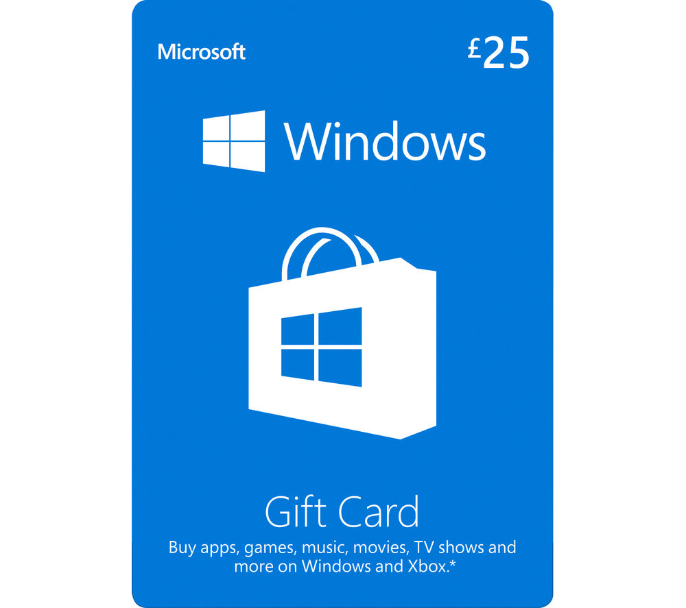 Get the gamer on your list a digital Xbox Gift Card to use at Microsoft Store online, on Windows and on Xbox. * You'll receive an email with a digital code that your gift recipient can use to buy popular games, add-ons, map packs and more.