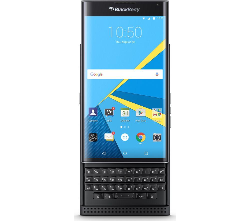 Image of BLACKBERRY Priv - 32 GB, Black, Black