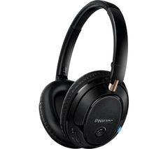 PHILIPS SHB7250 Wireless Bluetooth Headphones - Black