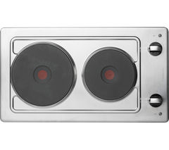 HOTPOINT First Edition E320SKIX Electric Solid Plate Hob - Stainless Steel Best Price, Cheapest Prices