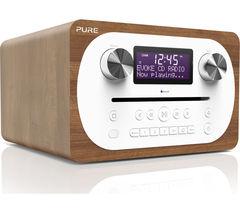 Evoke C-D4 DAB+/FM Bluetooth Radio - Walnut