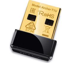 TP-LINK Archer T1U USB Wireless Adapter - AC 450, Single-band