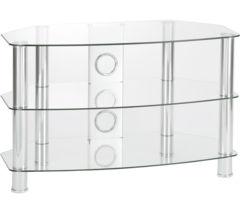 Vantage 1050 TV Stand - Chrome