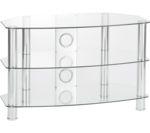 TTAP Vantage 1050 TV Stand - Chrome
