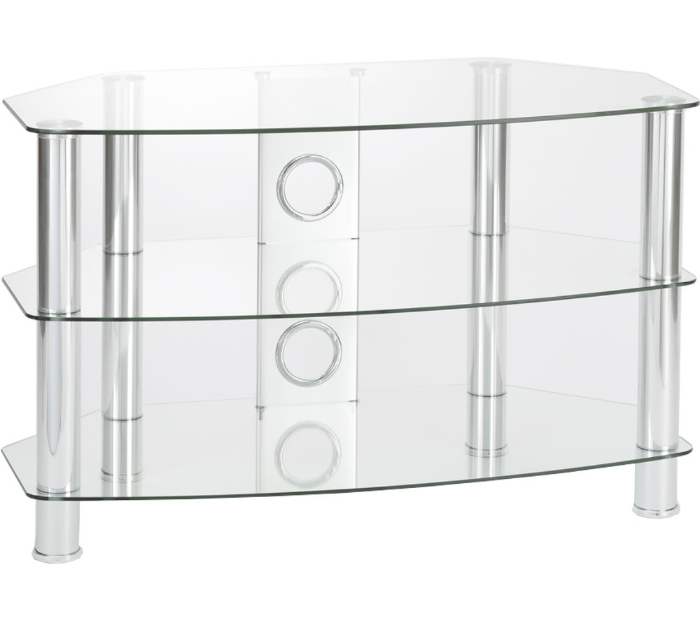 TTAP Vantage 1050 TV Stand - Chrome