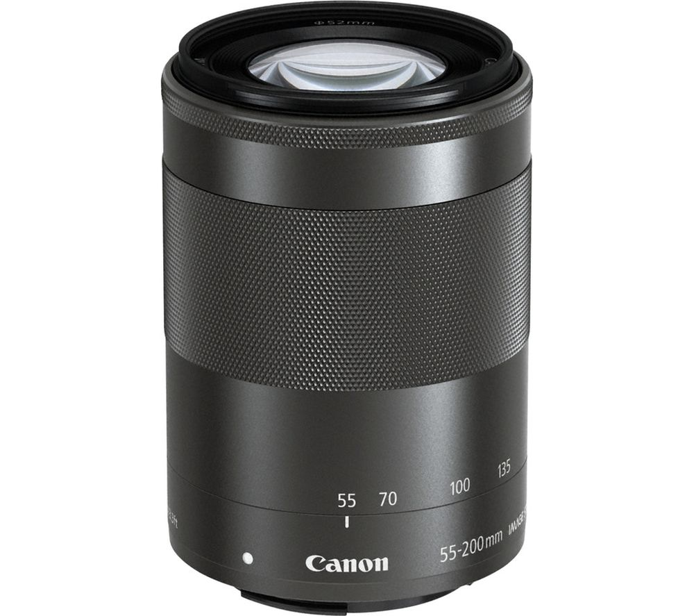 Canon EFM55-200 IS STM