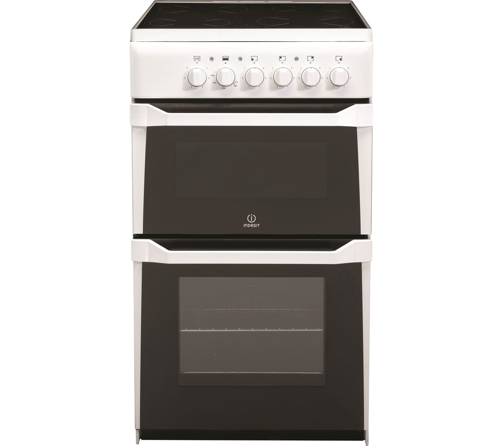 INDESIT IT50C(W) S 50 cm Electric Cooker - White