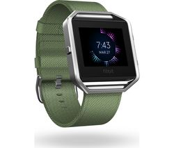 FITBIT Blaze Accessory Band - Olive, Small