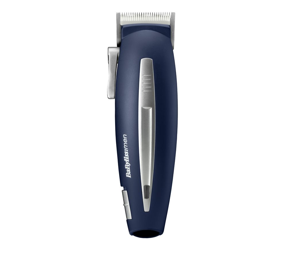 BABYLISS for Men Ceramic Smooth Cut Hair Clipper - Blue
